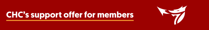 CHC's support offer for members